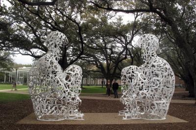 Mirror, 2011, Campus of the Rice University, Houston