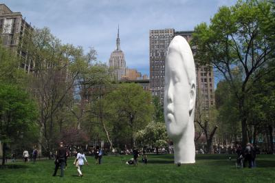 Echo, 2011, Madison Square Park, New York