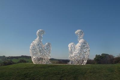 Jaume Plensa, Yorkshire Sculpture Park, Wakefield, U.K.