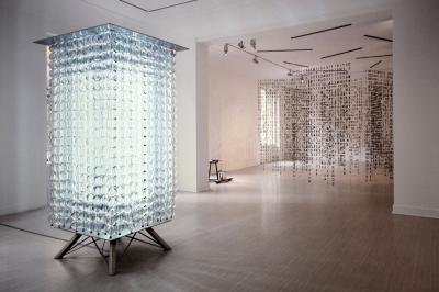 Crystal Rain, Galerie Lelong & Co. Paris, France