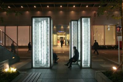 White Twins, 2004, Coredo Nihonbashi, Tokyo, Japan