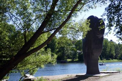 Jaume Plensa at Djurgården, Stockholm, Sweden