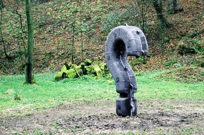 Seele?, 2000, Neanderthal Park, Germany