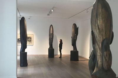 Jaume Plensa, Galerie Lelong & Co. Paris, 2019
