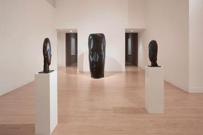 Silent Faces, Haines Gallery, San Francisco, California