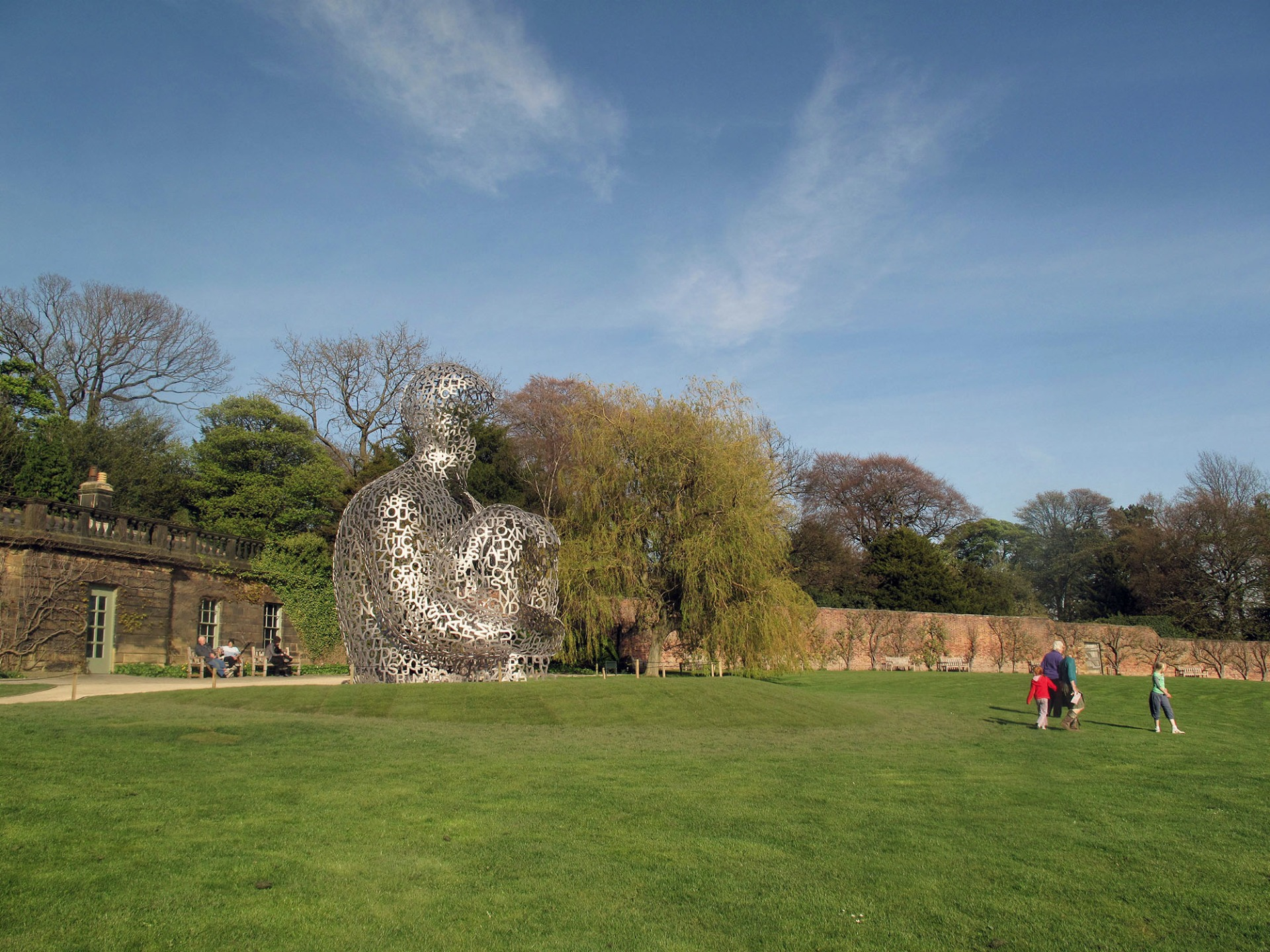 Jaume Plensa Yorkshire Sculpture Park Wakefield U K